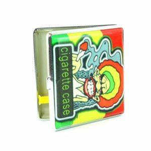 Cigarette Case Rastaman Smoking Joint