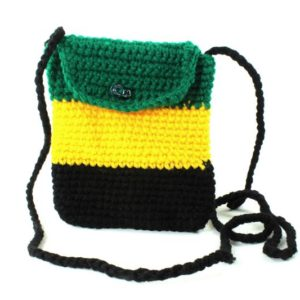 Bag Mobile Jamaica Flag Shoulder Button