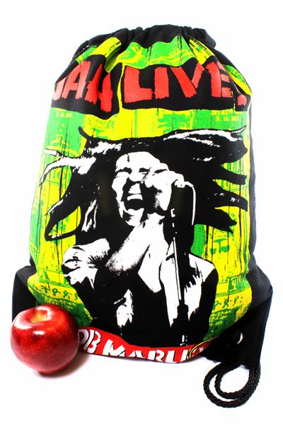 Backpack Jah Live Drawstring Strong Light Fabric