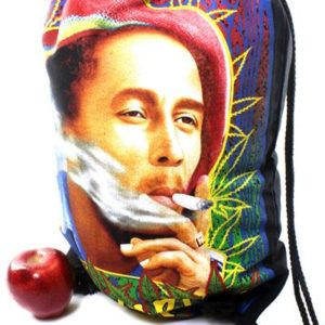 Backpack Rastaman Photo Drawstring Strong Light Fabric
