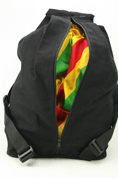 Backpack Reggae Theft Protection Zip Hidden Inside Back