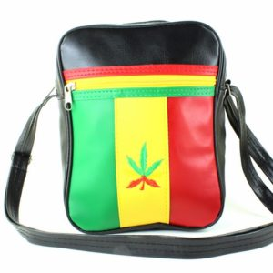 Bag Vinyl Shoulder Green Yellow Red Style Lacoste Sport