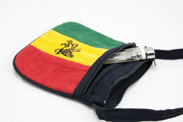 Bag Hemp Lion of Judah Shoulder Zip
