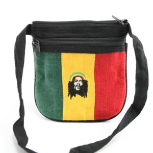Bag Hemp Rastaman Shoulder Zip