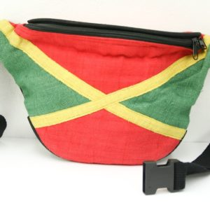 Bag Waist Hemp Jamaica Green Yellow Red