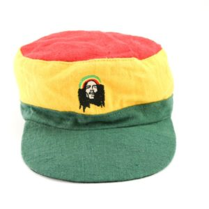 Cap Hemp Green Yellow Red Rastaman