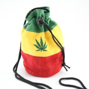 Bag Purse Hemp Big Ganja Leaf