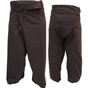 Trousers Thai Fisherman Pants Brown