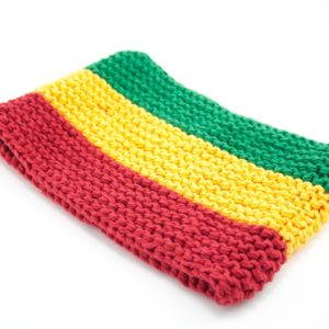 Headband Rasta Largest 6 Inches