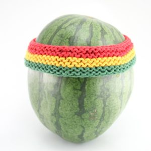 Headband Rasta 2 Inches