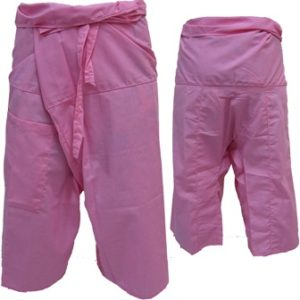 Trousers Thai Fisherman Pants Light Pink