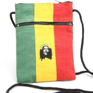 Bag Passport Hemp Rastaman Zip