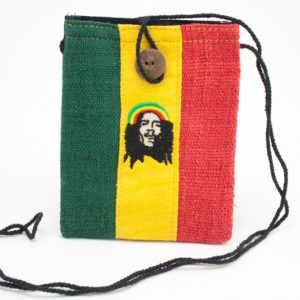 Bag Mobile Hemp Rastaman Portrait Button