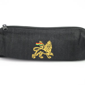 Pencil Case Black Hemp Lion Of Judah