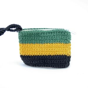 Purse Jamaica Flag Zip