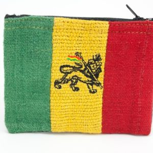 Purse Hemp Lion of Judah Zip