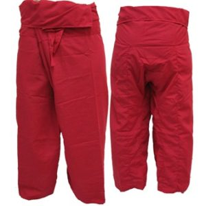 Trousers Thai Fisherman Pants Red