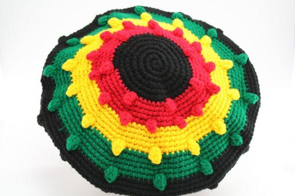 Tam Rasta Balls Pattern Green Yellow Red