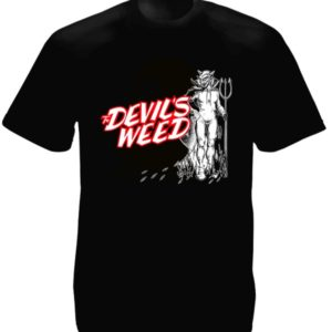 The Devil's Weed Black Tee-Shirt