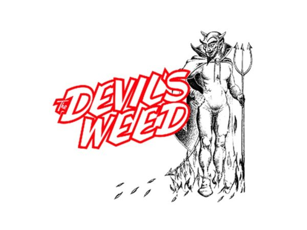 The Devil's Weed White Tee-Shirt