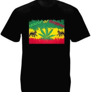 House of Reggae Black Tee-Shirt