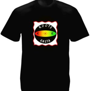 Roots Rasta Black Tee-Shirt