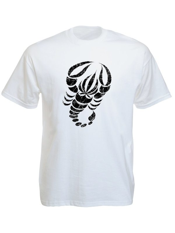 Scorpion White Tee-Shirt