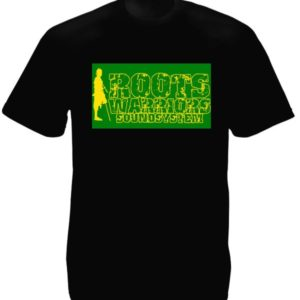 Roots Warriors Sound System Black Tee-Shirt