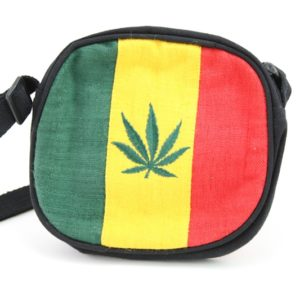 Bag Hemp Circle Handmade Cannabis Leaf
