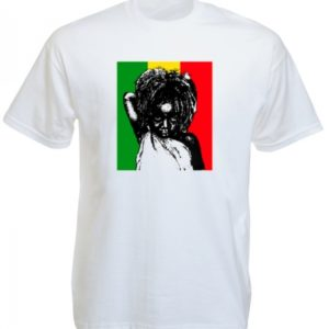 Rastababy Rasta Kid White Tee-Shirt