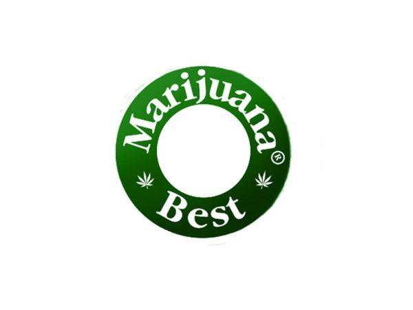 Tee-shirt Best Marijuana White